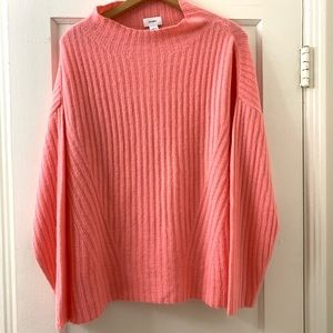 Bubble gum pink cozy sweater
